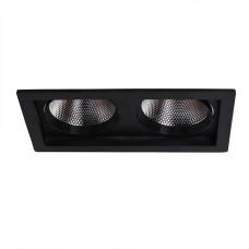 Встраиваемый Светильник Arte Lamp Privato A7007PL-2BK