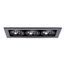 Встраиваемый Светильник Arte Lamp Cardani Medio A5930PL-3BK