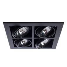 Встраиваемый Светильник Arte Lamp Cardani Medio A5930PL-4BK