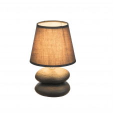 Настольная лампа GLOBO 21601, керамика, текстиль, E14, 1x40W