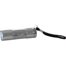 Фонарик карманный Globo 31903, серебро, LED, 9x0,07W