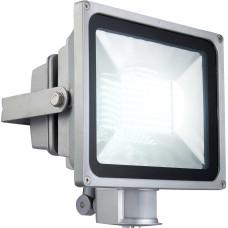 Светильник уличный с датчиком движения Globo 34104S, серебро, LED, 1x38,1W