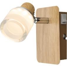 Спот Globo 56000-1, коричневый, LED, 1x5W