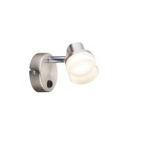 Спот Globo 56550-1, матовый никель, LED, 1x3,5W