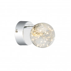 Спот GLOBO 56804-1, никель, LED, 1x3,5W