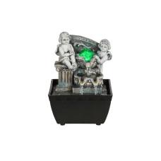 Фонтан декоративный GLOBO 93028, черный, LED RGB, 1x0,19W