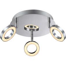 Спот Globo 56107-3, хром, LED, 3x5W