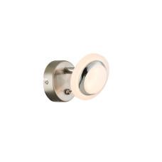 Спот GLOBO 56125-1, никель, хром, LED, 1x4W
