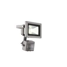 Светильник уличный с датчиком движения Globo 34107S, серебро, LED, 1x10W