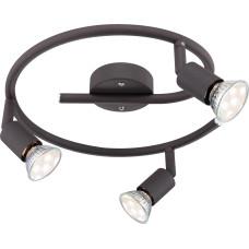 Спот Globo 57382-3L, черный, GU10 LED, 3x3W