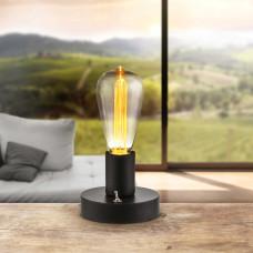 Настольная лампа декоративная Globo 28185, черный, LED, 1x0,06W