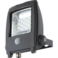 Светильник уличный с датчиком движения Globo 34218S, черный, LED, 1x10W
