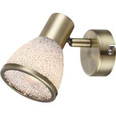 Спот Globo 56046-1, античная бронза, E14 LED, 1x4W