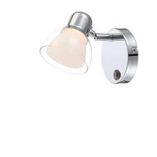 Спот Globo 56182-1, хром, LED, 1x4W