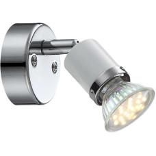 Спот Globo 57996-1, хром, GU10 LED, 1x3W