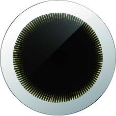 Зеркало настенное Globo 84018, хром, LED, 1x8W