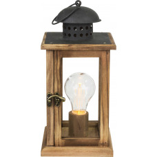 Настольная лампа декоративная Globo 28189, коричневый, LED, 1x0,06W