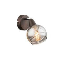 Спот GLOBO 54347-1, бронза, LED E14 , 1x4W