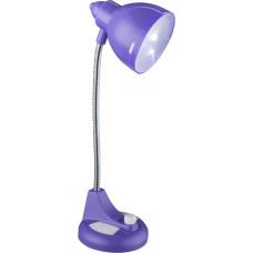 Настольная лампа Globo 58261P, синий, LED, 2x0,2W