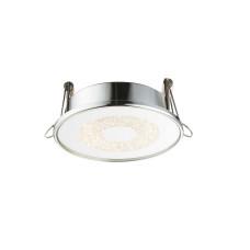 Светильник точечный GLOBO 12005, алюминий, хром, LED, 1x6W