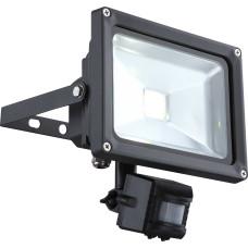 Светильник уличный с датчиком движения Globo 34115S, черный, LED, 1x20W