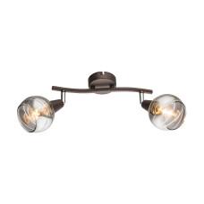 Спот GLOBO 54347-2, бронза, LED E14 , 2x4W