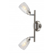 Спот Globo 56023-2, матовый никель, G9 LED, 2x3W