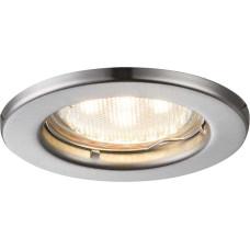 Светильник точечный Globo 12100-3LED, матовый никель, GU10 LED, 3x3W