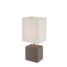 Настольная лампа Globo 21677, коричневый, E14, 1x40W