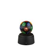 Настольная лампа GLOBO 28017, черный, LED, 1x0,06W
