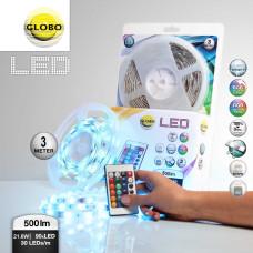 Светодиодная лента Globo 38991, rgb, RGB LED, 90x0,17W