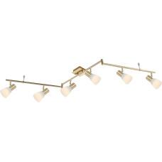 Спот Globo 54538-6, бронза, E14 LED, 6x4W