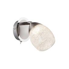 Спот GLOBO 56003-1, хром, никель, LED, 1x5W