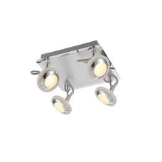 Спот Globo 56955-4, хром, LED, 4x5W