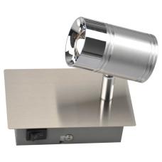 Спот GLOBO 56957-1, никель, хром, LED, 1x7W