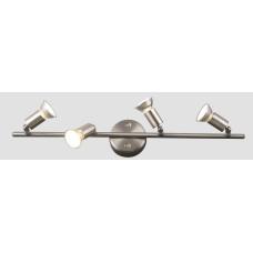 Спот Globo 5739-4, матовый никель, GU10, 4x50W