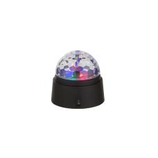 Настольная лампа GLOBO 28014, черный, LED, 6x0,06W