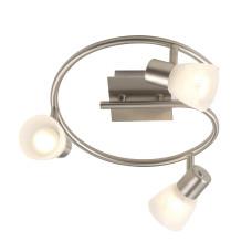 Спот Globo 54530-3, матовый никель, E14, 3x40W
