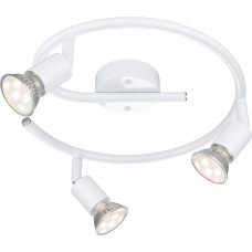 Спот Globo 57381-3L, белый, GU10 LED, 3x3W