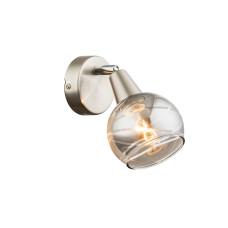 Спот GLOBO 54348-1, никель, LED E14 , 1x4W