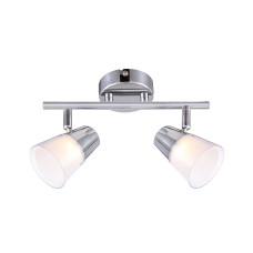 Спот Globo 56185-2, хром, LED, 2x3W