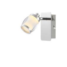 Спот Globo 56549-1, матовый никель, LED, 1x5W
