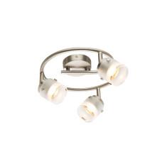 Спот GLOBO 56959-3, никель, хром, LED, 3x5W