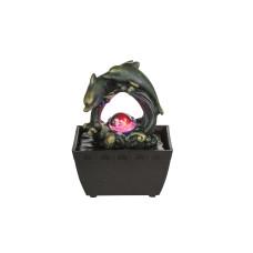 Фонтан декоративный GLOBO 93027, черный, LED RGB, 1x0,13W
