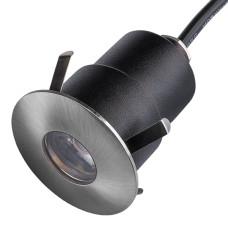 384315 Светильник IPOGEO LED 5W 280LM 35G НИКЕЛЬ 3000K IP65 (в комплекте)