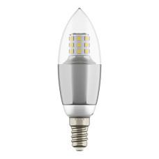 940542 Лампа LED 220V C35 E14 7W=70W 460LM 60G CL/CH 3000K 20000H (в комплекте)