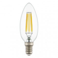 933504 Лампа LED FILAMENT 220V C35 E14 6W=65W 400-430LM 360G CL 4000K 30000H (в комплекте)