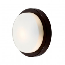 2744/1C DROPS ODL15 661 венге/стекло Н/п светильник IP44 E14 40W 220V HOLGER