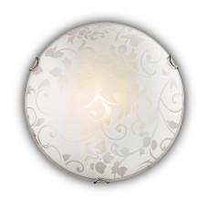 108/K SN 104 Светильник стекло E27 2*60Вт D300 VUALE