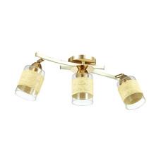 3029/3CA COMFI LN16 168 золото/беж/стекло/декор.тесьма Люстра потолочная E27 3*60W 220V FILLA